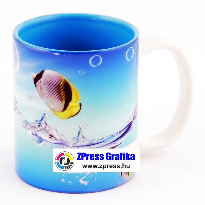 e4a3bc24758a Egyedi fényképes bögre kék belsővel - ZPress Számítástechnika ...